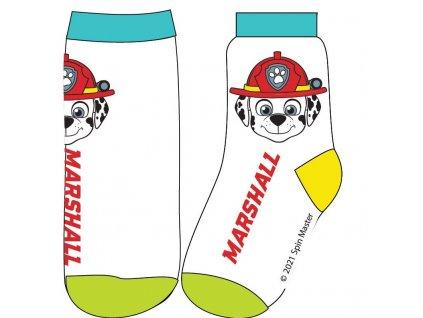 Dětské ponožky TLAPKOVÁ PATROLA 52341359 - bílé