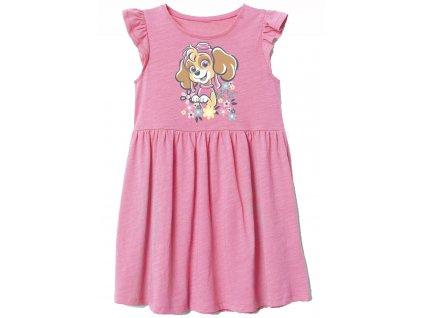 Dívčí šaty TLAPKOVÁ PATROLA 52231487 - růžové