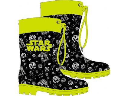 Chlapecké holínky STAR WARS 52557593 - černožluté