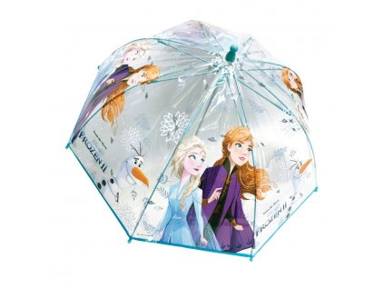 Dětský deštník FROZEN 3498 - modrý mx