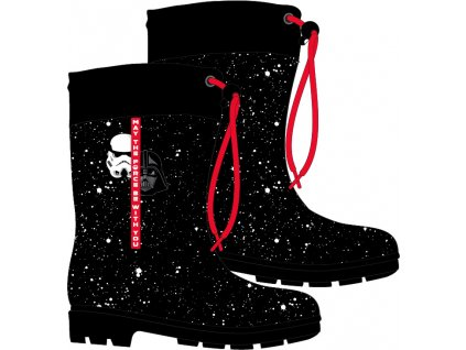 Chlapecké holínky STAR WARS 52558366 - černá/červená