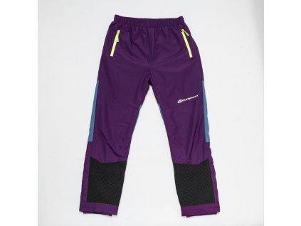 Dívčí šusťákové kalhoty WOLF B2875 - fialové (Velikost 158)