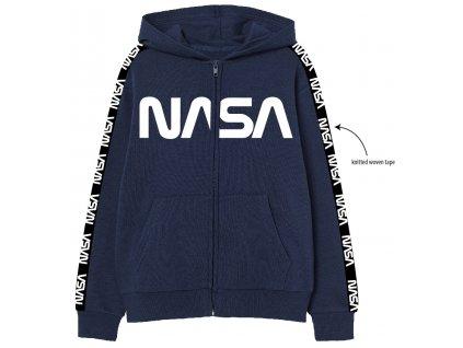 Chlapecká mikina NASA 5218107 - modrá