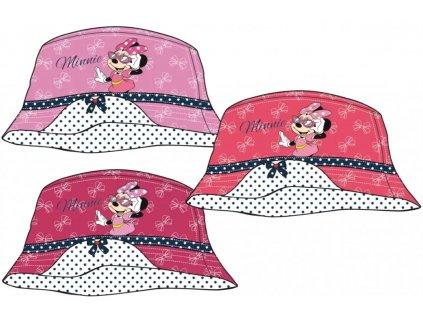 Dětský klobouk MINNIE 88235 - růžová