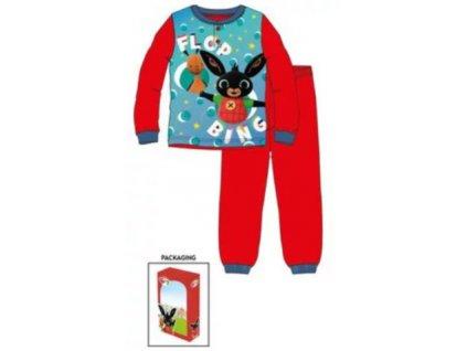 Dětské pyžamo ZAJÍČEK BING 7324 - modrá/červená
