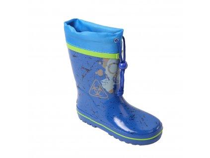 Dětské holínky WOLF Y2102B - sv. modré