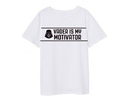 Chlapecké triko STAR WARS 52028419 - bílé