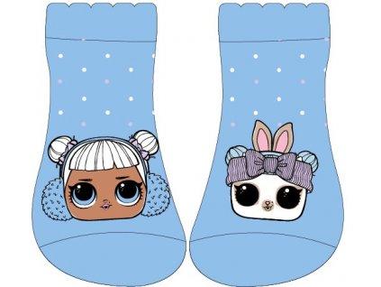 Dětské kotníkové ponožky LOL 5234073 - modré