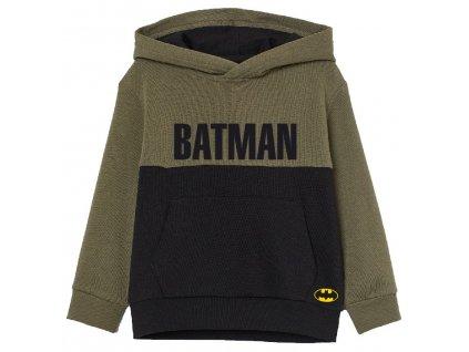 Chlapecká mikina BATMAN 5218335 - khaki/černá
