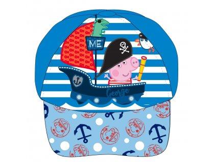 Dětská kšiltovka PEPPA PIG 5239733 - pirát/sv. modrá