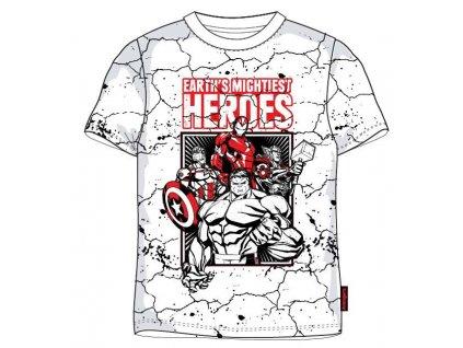Chlapecké triko AVENGERS 5202354 - bílé