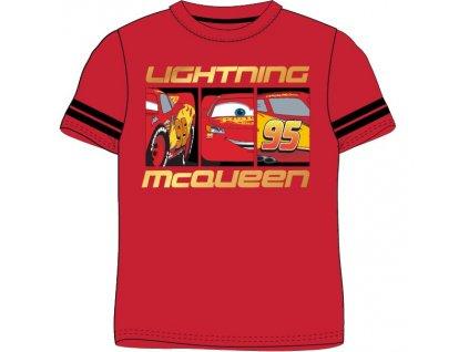 Chlapecké triko CARS 52028328 - červené