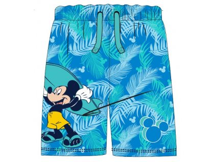 Chlapecké plážové šortky MICKEY 52446668 - modré