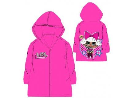 Dívčí pláštěnka LOL 5228116 - růžová
