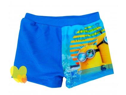 Chlapecké plavky MIMONI 095374 - žlutá/modrá