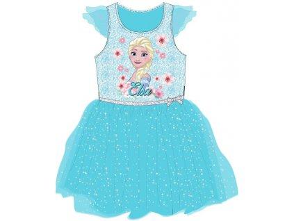 Dívčí šaty FROZEN 52236758 - tyrkys