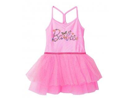 Dívčí šaty BARBIE 5223198 - růžové