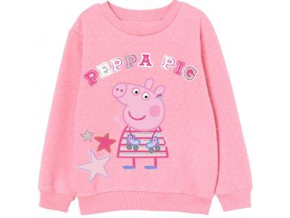 Dívčí mikina PEPPA PIG 5218881 - růžová