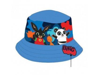 Dětský klobouk ZAJÍČEK BING 772-000 - modrý