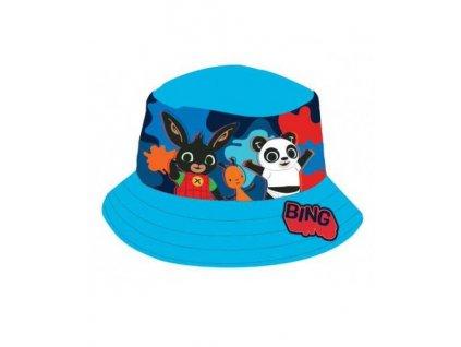 Dětský klobouk ZAJÍČEK BING 772-000 - tyrkys