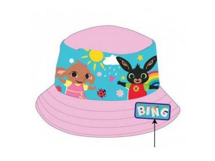 Dětský klobouk ZAJÍČEK BING 771-999 - sv. růžový