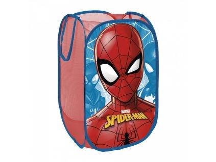 Úložný koš na hračky SPIDERMAN 11589 - modrá/červená
