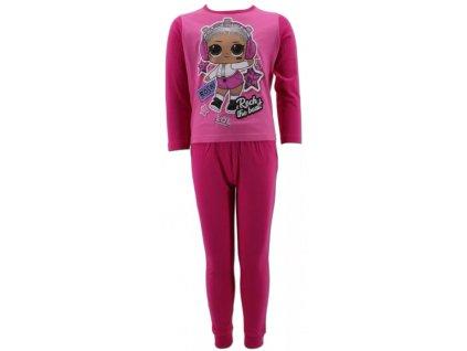 Dívčí pyžamo LOL 090721 - růžové