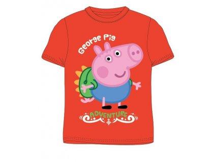 Dětské triko PEPPA PIG 5202826 - krátký rukáv, oranžové