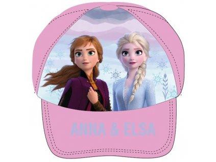 Dívčí kšiltovka FROZEN ANNA A ELSA 52399242 - růžová