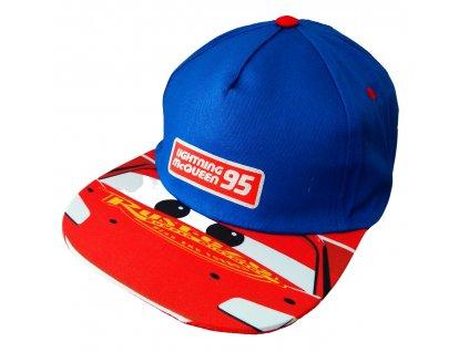 Dětská kšiltovka CARS 52398280 - modrá/červená