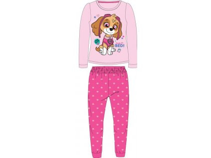 Dětské pyžamo TLAPKOVÁ PATROLA  52041569 - růžová
