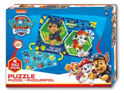 Puzzle TLAPKOVÁ PATROLA 021726 - Chase a Marshall/50 dílků