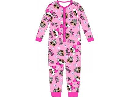 Dětský overal LOL 5204085 - růžová