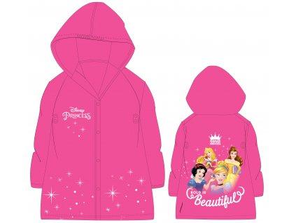 Dívčí pláštěnka PRINCEZNY 52288532 - růžová