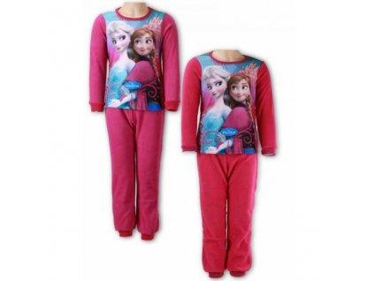 Dívčí pyžamo FROZEN polar fleece 831-535 - růžové/teplé
