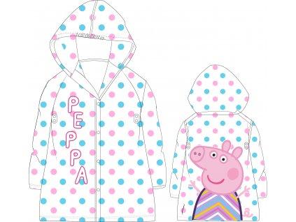 Dětská pláštěnka PEPPA PIG 5228870 - růžová s puntíky