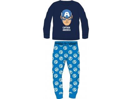 Dětské pyžamo AVENGERS 5204398 - chlupaté CORAL/modré