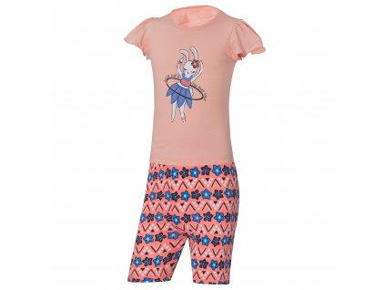 Dívčí pyžamo WOLF S2964 - lososové (Velikost 128)