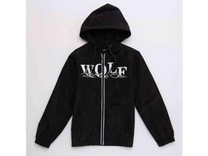 Chlapecká šusťáková bunda WOLF B2967 - černá (Velikost 164)