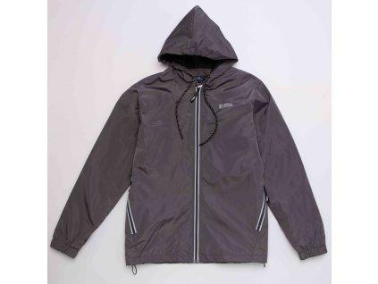 Pánská šusťáková bunda WOLF B2969 - šedá (Velikost XXL)
