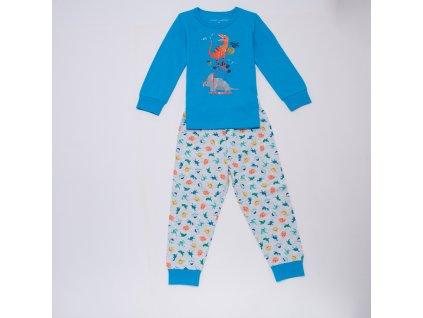 Chlapecké pyžamo S2955B - modré (Velikost 128)