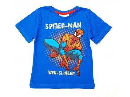 Chlapecké triko SPIDER-MAN 604 - modré