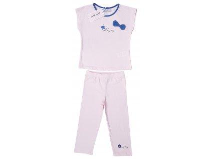 Dívčí pyžamo NAF NAF 3010 - sv. růžové