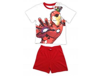 Chlapecké pyžamo AVENGERS 2101 - bílé