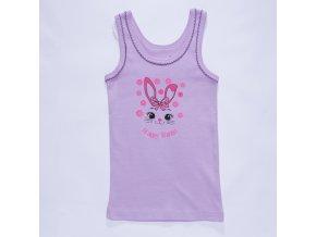 Dívčí spodní košilka S2861 - fialová (Velikost 98/104)