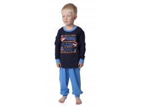 Dětské pyžamo CALVI 18-323 - modré