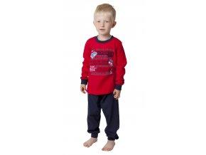 Dětské pyžamo CALVI 18-323 - červené