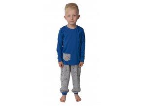 Dětské pyžamo CALVI 18-434 - modré