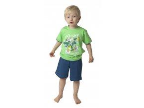 Dětské pyžamo CALVI 18-184 - zelené