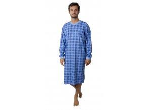 Pánská noční košile CALVI 17-617 - modrá